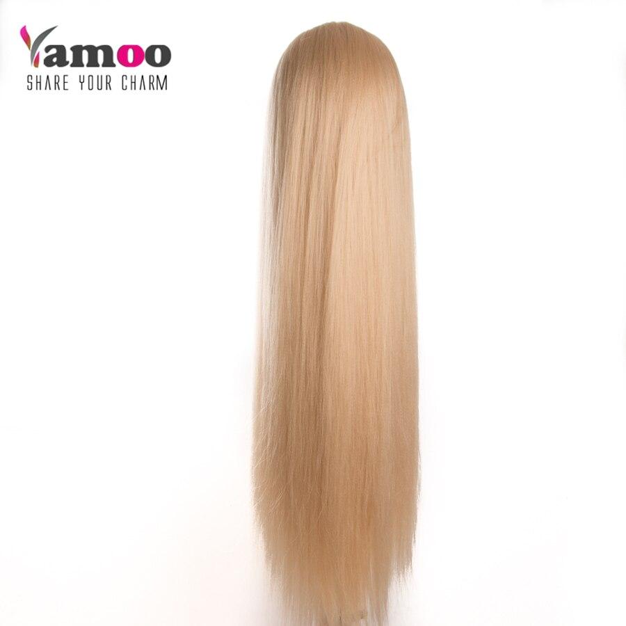 Peşəkar 80cm bərbər kuklaların başı çox uzun yaki saçlı - Saç qayğı və üslubu - Fotoqrafiya 3