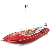 2.4G 4CH RC Yacht Boat Sailing Model Toy 20km/H Large High Speed 4 Channel Remote Control Yacht Sailing Model Toys Gift RC Boat