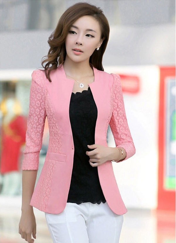 2014 new fashion spring women small jacket slim Korean