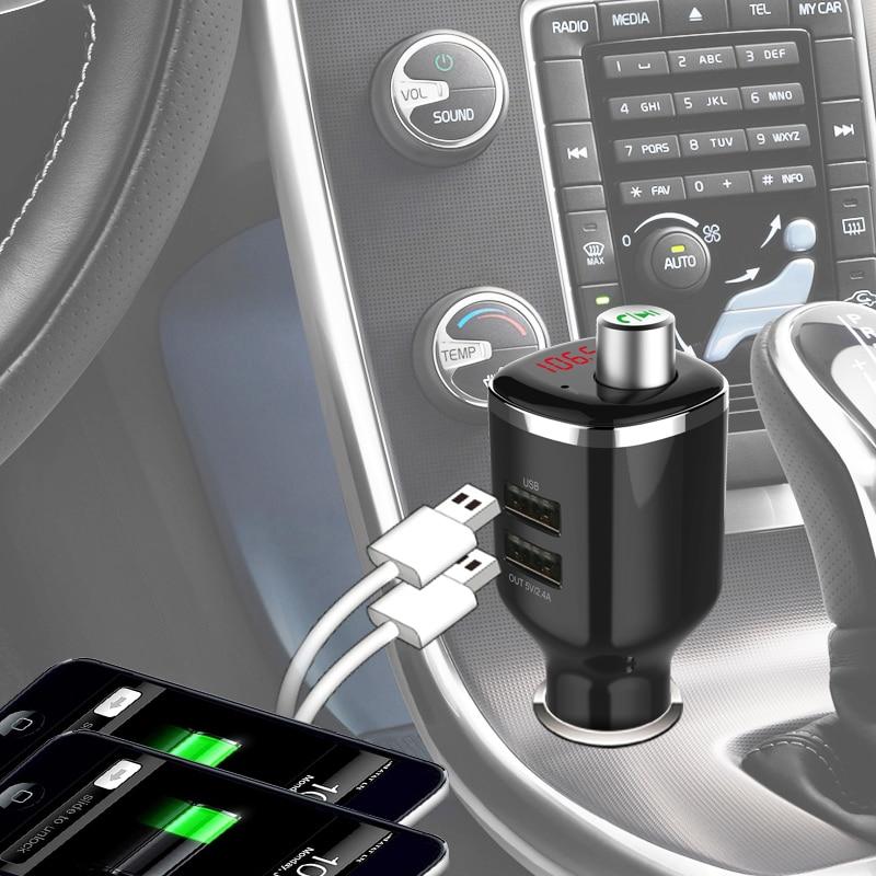 STOD ორმაგი USB მანქანის Bluetooth - მობილური ტელეფონი ნაწილები და აქსესუარები - ფოტო 6