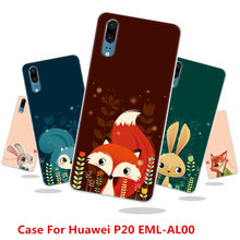 Case For Huawei P20 EML-AL00,18 Colors,High-quality Silicone Case,Shiny Jelly Silicone Back Cover Case!Red Fox Color Case!(China)