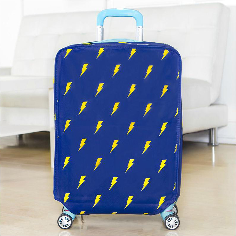 Wulekue Non-Woven Travel Luggage Suitcase Protective Cover Trolley case Travel Luggage Dust cover Bags Accessories joytour jt2020 convenient non woven fabric protective cover for 26 suitcase coffee