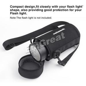 Image 4 - Pergear Durable Portable Bag Protective Case for Godox V1 V1C V1N V1S & Godox AD200 AD200Pro Speedlite Flash Light