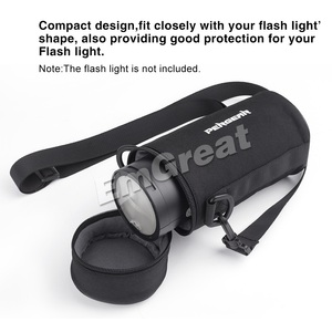 Image 4 - Pergear sac Portable Durable étui de protection pour Godox V1 V1C V1N V1S & Godox AD200 AD200Pro Speedlite Flash