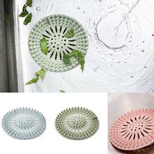 Силиконовая кухонная Крышка для ванной комнаты, душевой фильтр для волос, сливная пробка, многофункциональная дренажная стойкая Сливная крышка