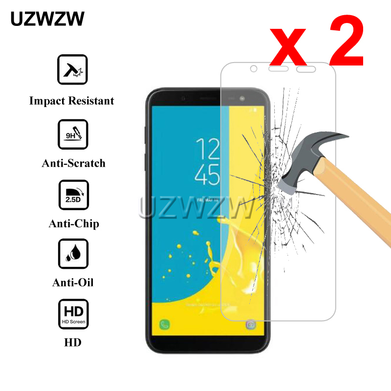 2pcs Premium Tempered Glass For Samsung Galaxy J8 J6 J4 2018 Protective Glass Screen Protector For Samsung J4 J6 J8 2018 Glass-in Phone Screen Protectors from Cellphones & Telecommunications
