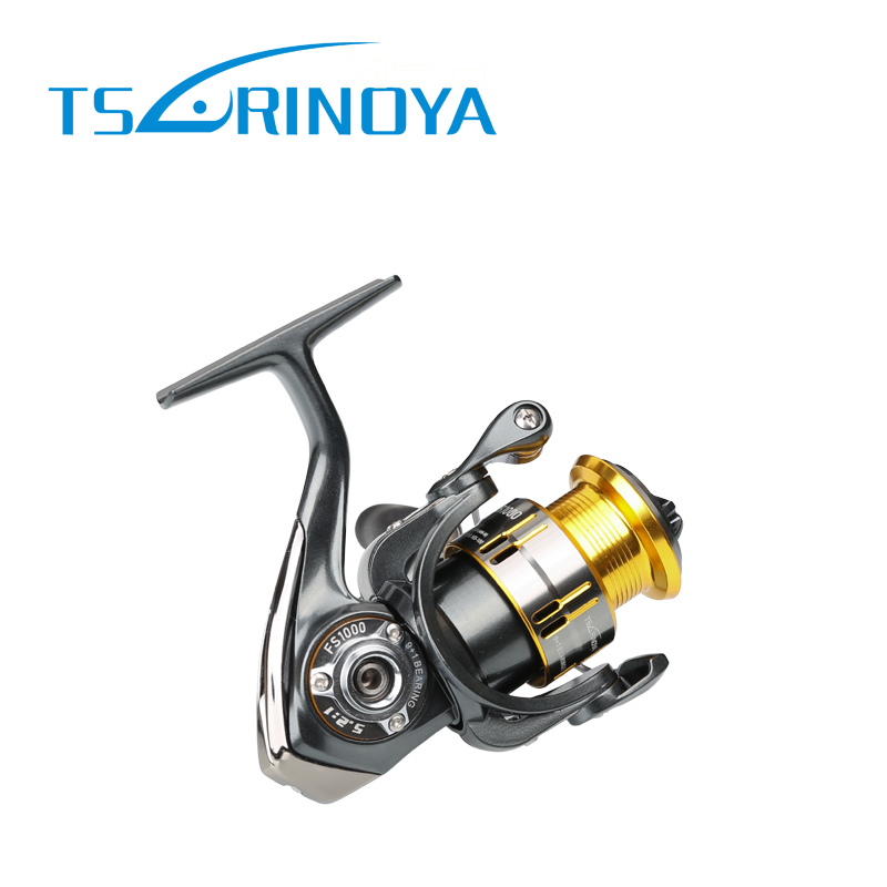 Tsurinoya FS 800 1000 2000 Ultra Light Spool Carp Fishing Spinning Reel Surfing Bait Freshwater Saltwater Spinning Fishing Reels - 2