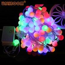 Праздничная лампа, USB 1,5 м, 3 м, 6 м, 10 м, сказочный шар гирлянды светодиодный светильник, на батарейках, для рождества, свадьбы, вечеринки, 220 В, штепсельная вилка европейского стандарта