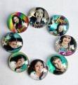30pcs/lot Super pop singer Soy Luna Elenco de Soy Luna glass Cabochons Jewelry Finding Cameo Pendant bracelet Earrings Settings