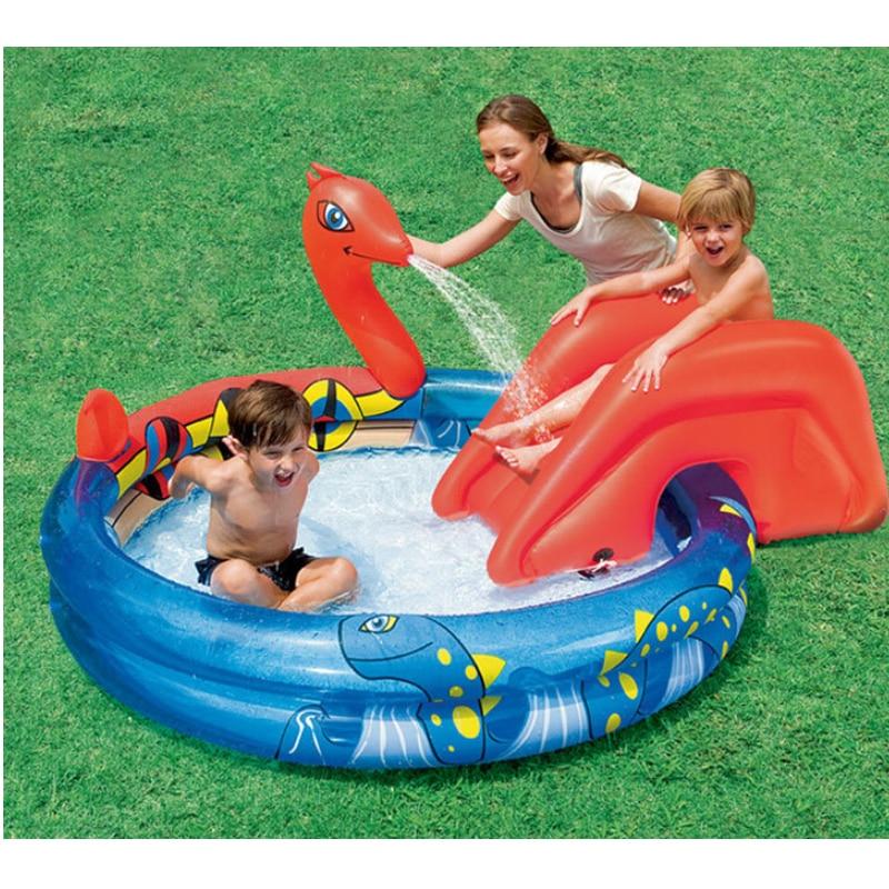 203 * 165 * 73 Baby Oppustelig Vand Marine Ball Pool Thickening Swimmingpool Legeplads Piscine Piscinas Swimmingpool