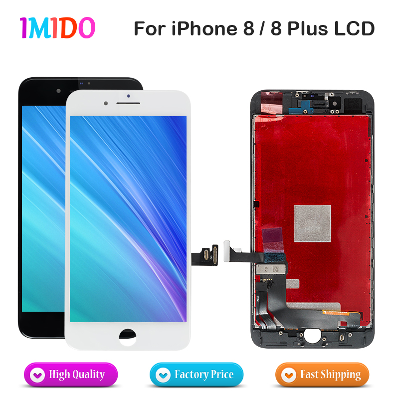 20Pcs China LCD For iPhone 8 8 Plus LCD Display Touch Screen Digitizer Complete Assembly Digitizer