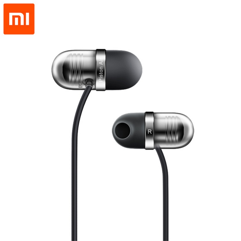 Original Xiaomi Piston Capsule In-Ear Earphone Piston Air With Mic Earphone Silicone for Xiaomi Lenovo Android iOS Phones piston