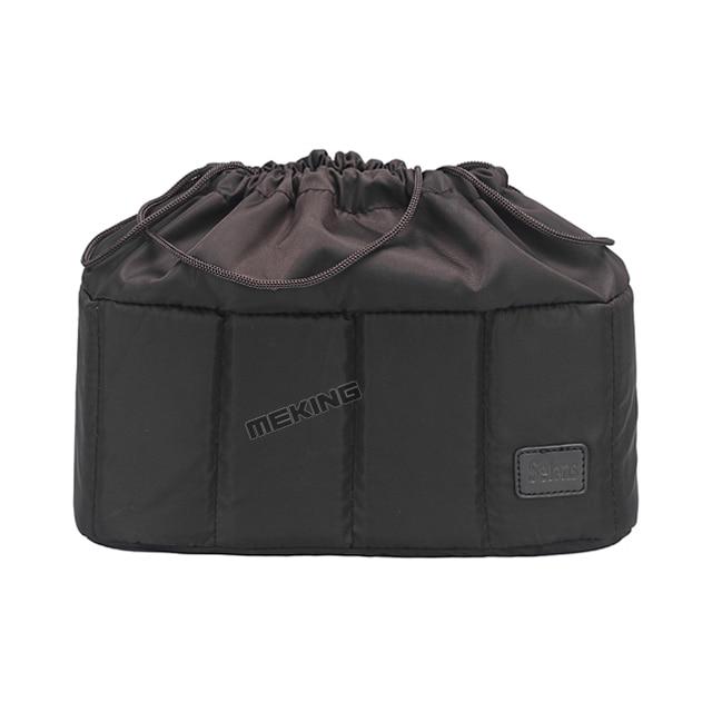 Selens Flexible Camera insert Partition Padded Bag Case for Canon Nikon Sony DSLR SLR camera Lens