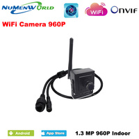 New Super Mini IP Camera wireless 960P cameras wifi CCTV Video Camera indoor H.264 Smallest 1.3MP P2P home security cam
