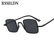 RSSELDN Pequeno Quadrado Preto Óculos De Sol Dos Homens Da Marca do  Desenhador 2019 Rosa Vermelha Pequeno óculos de Sol Para As .. 0f545a2934