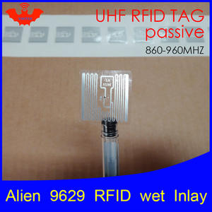 Sticker Label Rfid-Tag Wet-Inlay Adhesive Smart 868mhz 6C UHF Higgs3 860-960MHZ EPCC1G2