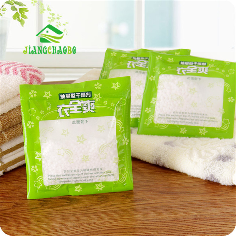 Household Cleaning Tools Chemicals Be Hanging Wardrobe Closet  Bathroom,Moisture Absorbent Dehumidizer Desiccant Dry Bag