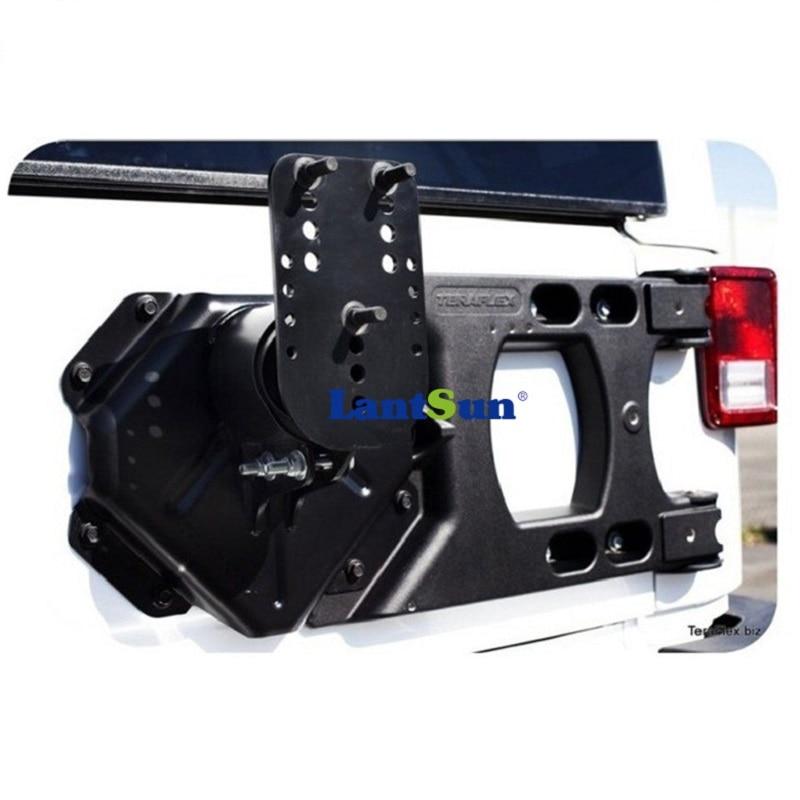 Комплект J152 черен алуминиев заден - Автомобилни светлини - Снимка 6