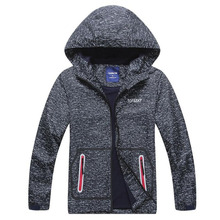 Boy Jackets Outerwear Windbreaker Waterproof Windproof Coat Warm Polar Fleece Children Running Jacket For Kids Hooded For Boys 2020 autumn winter waterproof windbreaker girls jacket for child hooded star polar fleece girls outerwear coat 3 12t kids jacket