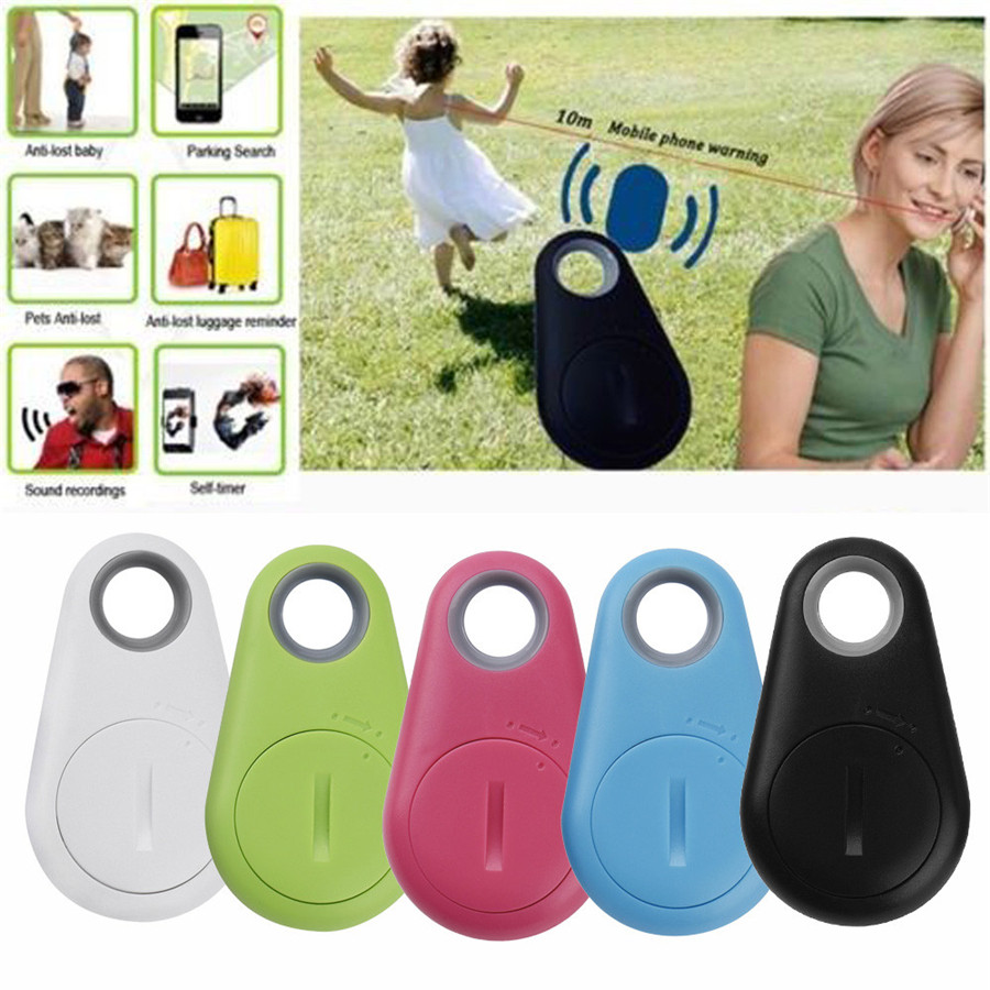 Anti-Lost Theft Device Alarm Bluetooth Remote GPS Tracker Child Pet Bag Wallet Key Finder Phone Box Search Finder wireless remote control goods finder anti lost alarm device set 5 x cr2032 1 x 27a