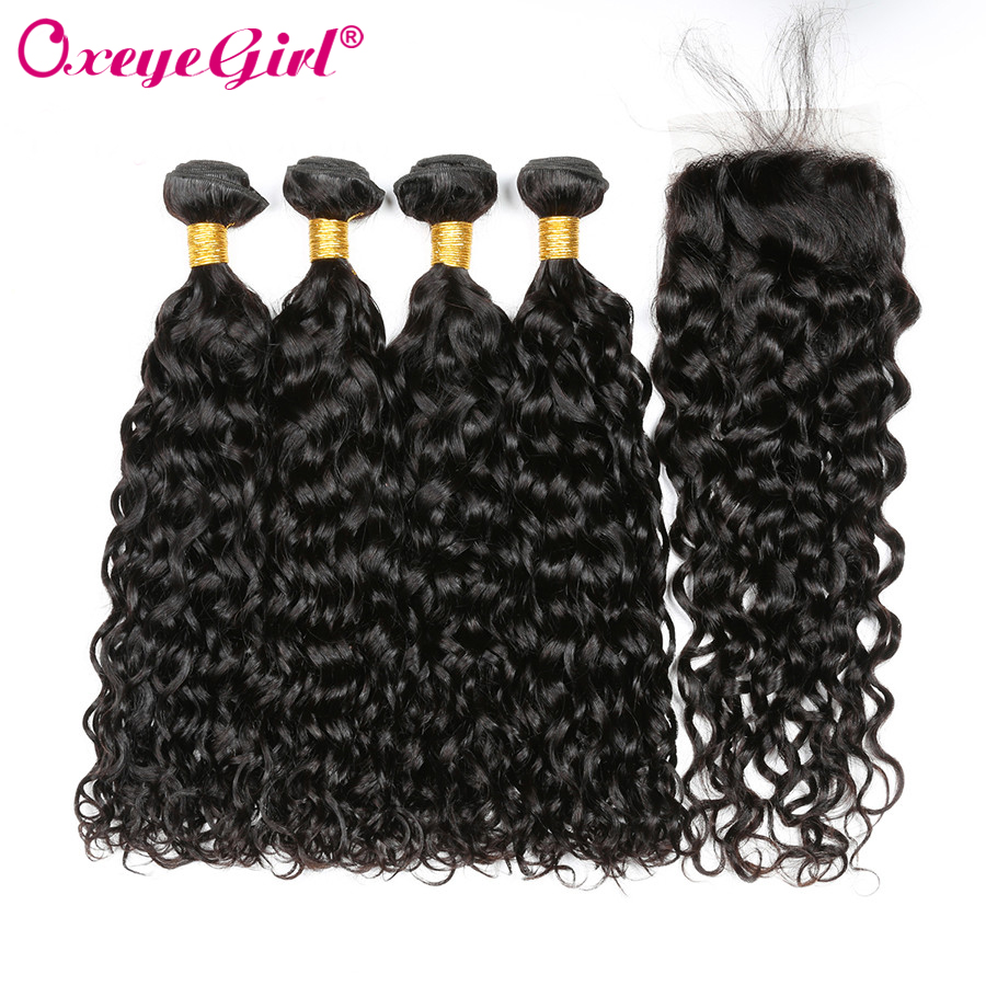 Human Hair Weaves Hair Extensions & Wigs Honey Oxeye Girl 360 Lace Frontal With Bundle Brazilian Straight Hair Bundles Human Hair Bundles With Closure 360 Lace Frontal Nonremy