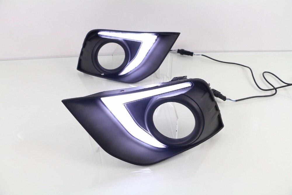 Osmrk Сид DRL дневного света для Мицубиси ASX с 2016-17 Дим-контроль, сигнал поворота, синий ночного света, беспроводной выключатель