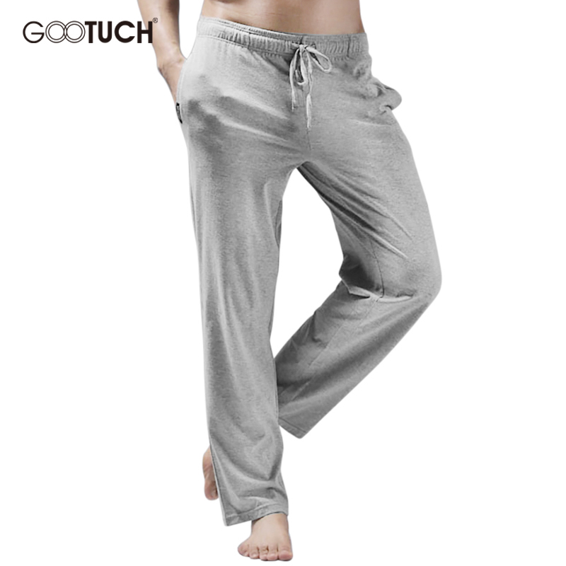 Men's Cotton Pajamas Sleepwear Drawstring Lounge Pants Mens Cotton Sleep Bottoms Loose Pyjama Hombre Trousers 4XL 5XL 6XL 2499