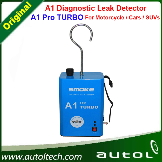 A1 Pro TURBO Automotive Diagnostic Leak Detector Smoke Powerful Tool to Fast Check System Leaks