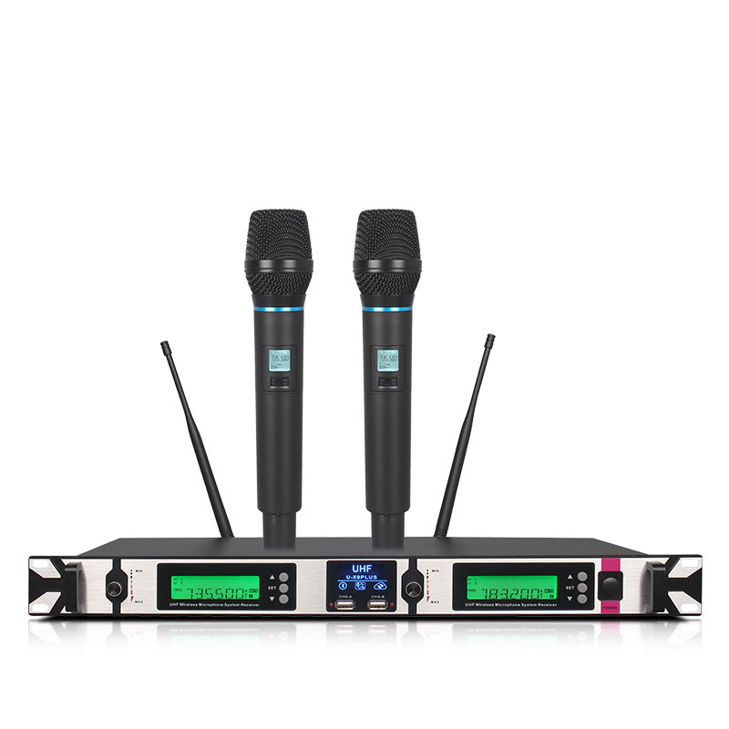 top x9plus professional wireless handheld microphone system with bluetooth karaoke stage lapel. Black Bedroom Furniture Sets. Home Design Ideas