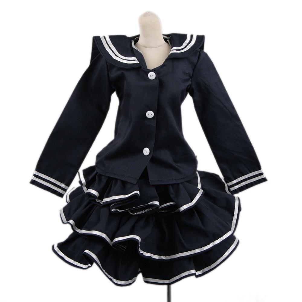 [wamami] 800# Dark Blue Dress/Clothes/Suit For 1/3 SD DOD AOD BJD Dollfie [wamami] 386 black clothes suit dress 1 3 sd bjd dollfie