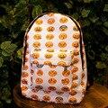 Baru 2015 Emoji ransel pretty style shoulder bag smiley faces teenagers schoolbags women canvas mochila backpacks
