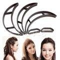 5 Pcs/set Bumpits Big Happie Hair Volumizing Inserts Hair Pump Beauty Tool Gift