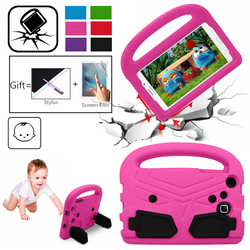 Eva Case For Samsung Tab 7 inch T280 T285 T230 T110 T211 7.0 Case Cover Shockproof Children Kids Handle Stand Protective Cover title=
