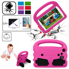 Eva Case For Samsung Tab 7 inch T280 T285 T230 T110 T211 7.0 Case Cover Shockproof Children Kids Handle Stand Protective Cover light weight kids case super protection cover handle stand case for kids children for samsung galaxy tab a 7 inch tablet