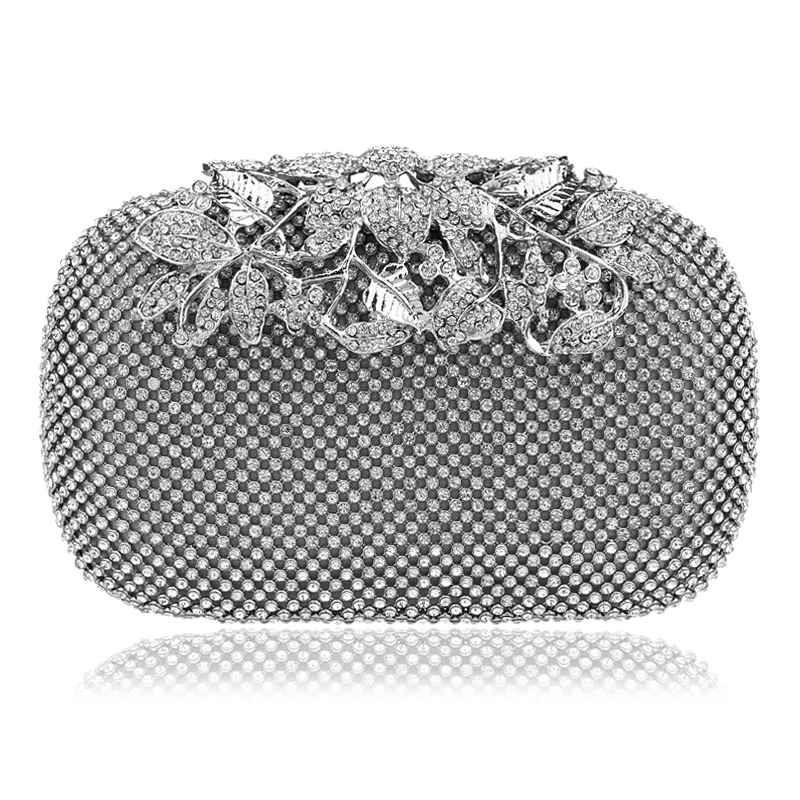 Crystal Evening Bag Clutch Bags Clutches Lady Wedding Purse ...