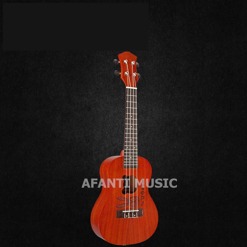Afanti  Music Mahogany / 23 inch Ukulele (DGA-259) 13 inch double tone afanti music snare drum sna 109 13