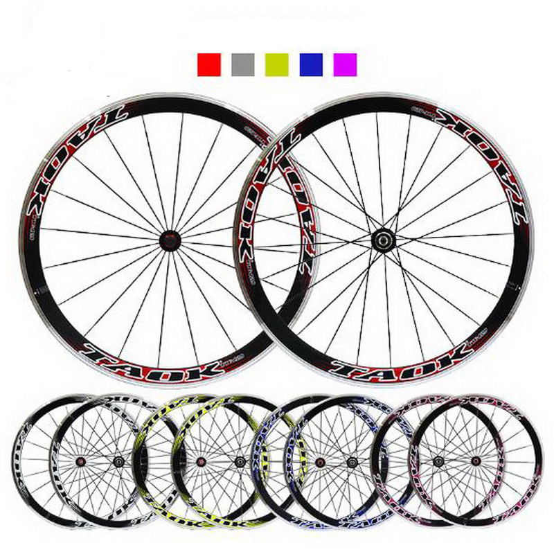 230913/ 700C / mountain wheel group bike Aluminum alloy flower drum aluminum alloy double circle circle disc brake wheel hub chosen aluminum mountain bike hubs set wheel hub front and rear skewers quick releas disc brake hub 4 bearings 90 ring 32 hole