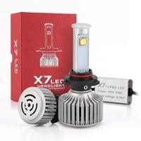 2pcs Play Plug Led Car Auto Headlight Hihg Power 40W 3600LM X7 9005 For Automotives Headlight