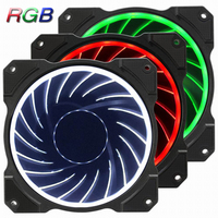 Jonsbo FR 131 Computer Case Fan Colorful RGB Cool LED Light 6 Pin SATA Interface Hydraulic