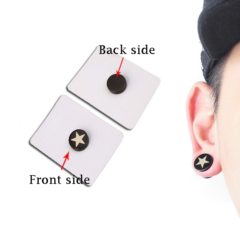 1PC-Punk-Mens-Strong-Magnet-Magnetic-Health-Care-Ear-Stud-Non-Piercing-Earrings-Fake-Earrings-Gift