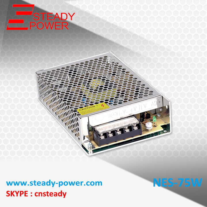 Steady CE Approved NES-75-5 75w small size switch power supply (smps) 200w switching power supply nes 200 5 5v 40a smps ce approved for led driver