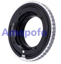 Adaptador Amopofo LM NEX/M para lente Leica M L/M a adaptador de montaje SonyE NEX Macro de enfoque helicoidal a5000/A5100/A6000/A7