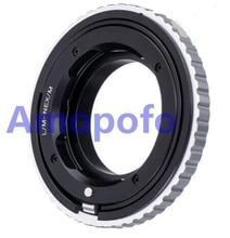 Adaptateur Amopofo LM NEX/M pour objectif Leica M L/M vers adaptateur de montage SonyE NEX Macro mise au point hélicoïdal A5000/A5100/A6000/A7