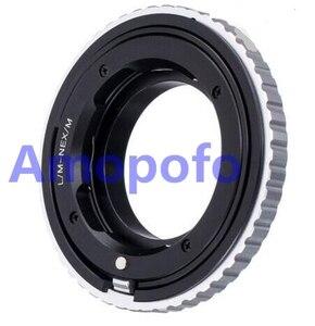 Image 1 - Adaptateur Amopofo LM NEX/M pour objectif Leica M L/M vers adaptateur de montage SonyE NEX Macro mise au point hélicoïdal A5000/A5100/A6000/A7