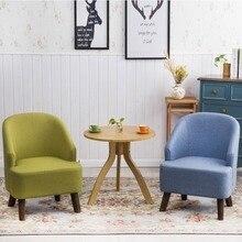 Цельные деревянные балконные столы и стулья из трех предметов, повседневный тканевый диван-стул для гостиной, спальни, журнальный столик, комбинированная мебель