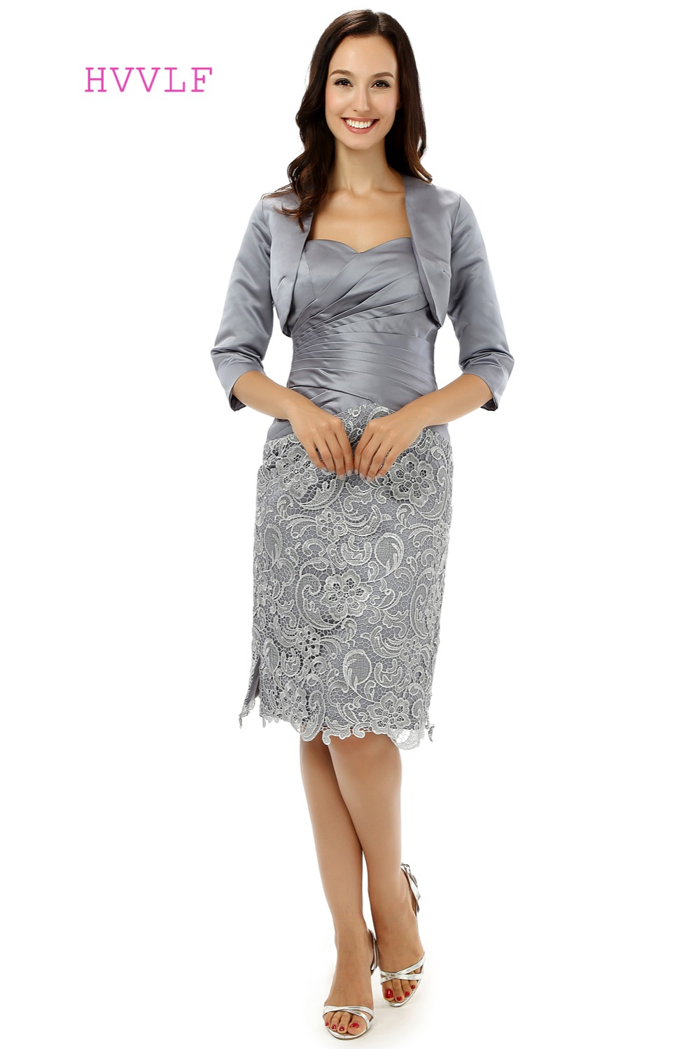 Silver Evening Jackets for Dresses