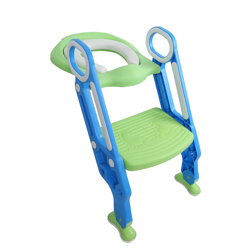 Baby Toilet Seat Kids Toilettes With Adjustable Ladder Child Potty Chair Folding Toilet Trainer Seat Step Children Potty Seat ...