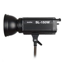 Godox SL-150W 150 W 5600 K CRI 93 + 16 canaux studio LED lumière vidéo continue avec montage Bowens pour caméra DSLR + télécommande