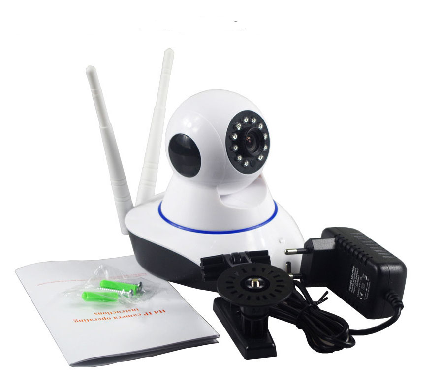 HD 1080P Pan & Tilt WIFI IP Camera P2P Night Vision 2.0MP Network Camera 2 Way Audio Wireless Security IP Camera ONVIF