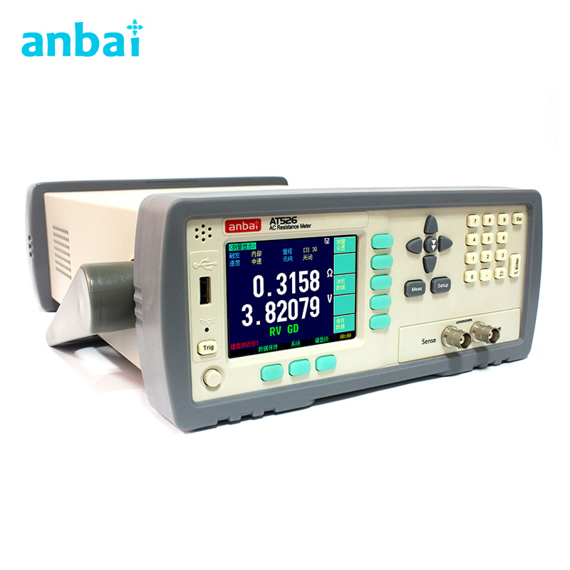 цена на High Precision and High Stability AT526 AC Low Ohm Meter ,DC Resistance Test,Battery Internal Resistance Meter